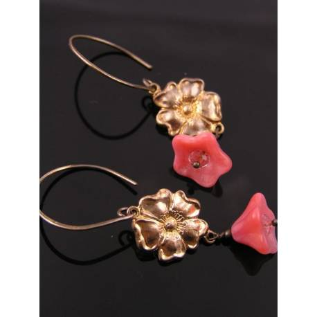 Trumpet Flower Earrings