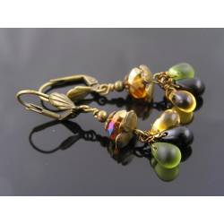 Sparkling Czech Glass Earrings
