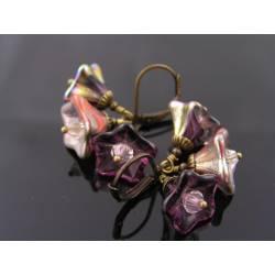 Czech Flower Earrings