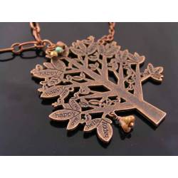 Large Tree of Life Necklace, Body Necklace