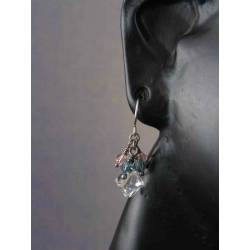 Super Sparkly Swarovski Crystal Earrings in Sterling Silver