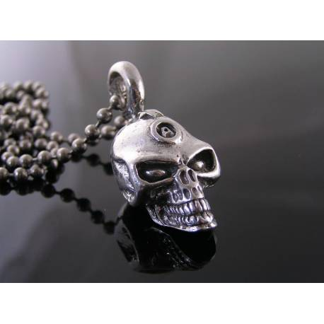 Heavy and Solid Skull Necklace