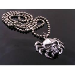 Skull Spider Necklace
