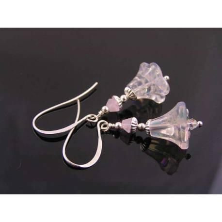 Shiny Flower Earrings