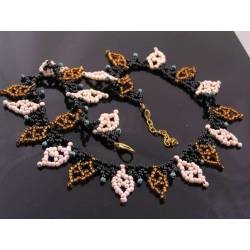 Hand Woven Seed Bead Necklace