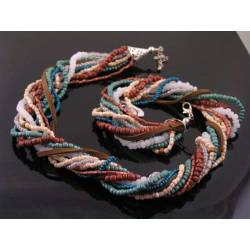 Southwestern Necklace, Multistrand