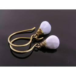 Blue Oregon Owyhee Opal Earrings