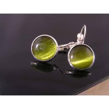 Olive Sleeper Earrings