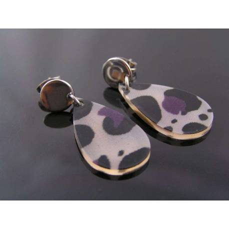 Fabulous Acrylic Retro Earrings