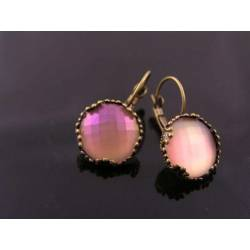 Shimmering Pink Earrings