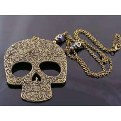 Huge Skull Necklace