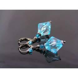 Aqua Blue Earrings