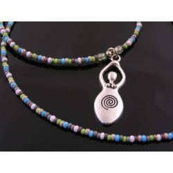 Beaded Goddess Necklace