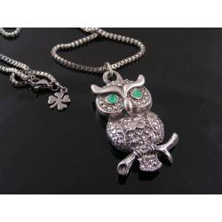 Substantial Owl Necklace