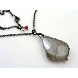 Huge Crystal Necklace