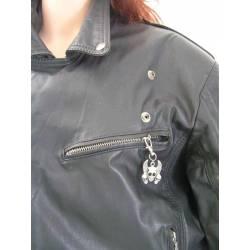 Zipper Pull - Skulls, Great Biker Gift