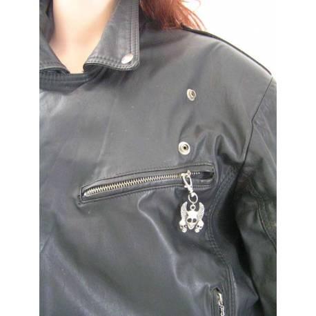 Zipper Pull - Skulls