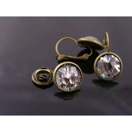 Earrings and Brooch Pin Set