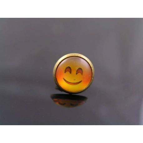 Happy Smiley Pin