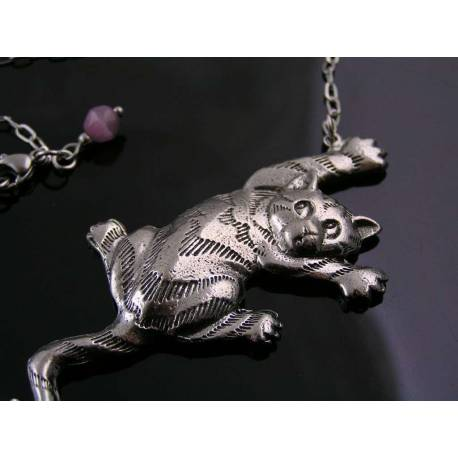 Large Cat Necklace