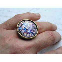 Fabulous Glass Opal Ring