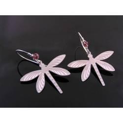Delicate Dragonfly Earrings