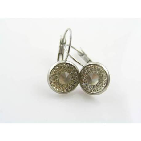 Gorgeous Vintage Cabochon Earrings