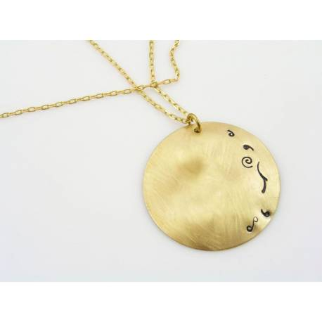 Discus Necklace, One-of-a-Kind