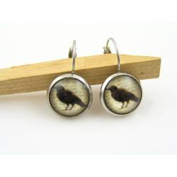 Raven Earrings