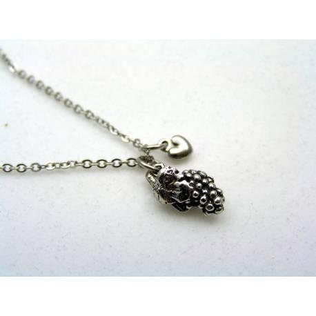 Grape Charm Necklace