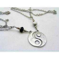 Matching Couple Necklace, Yin and Yang Necklaces