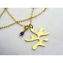 Inkblot Necklace