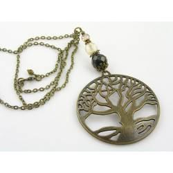 Lange Tree Necklace, Boho Jewelry