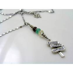 Inspirational Road Sign Necklace