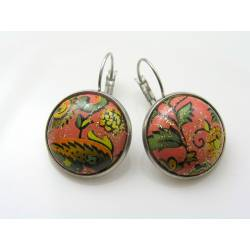 Unique Cabochon Earrings