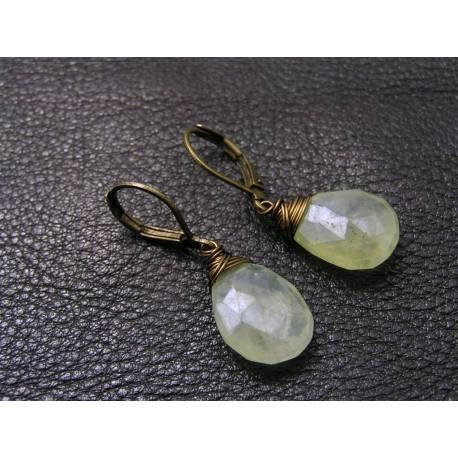 Mystic Prehnite Earrings