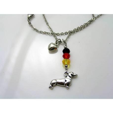 Dachshound, Sausage Dog Necklace