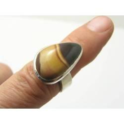 Vintage Jasper Sterling Silver Ring