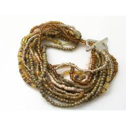 Beaded Bracelet, 16 Strands