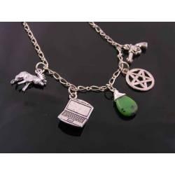 Supernatural Charm Necklace Sam Winchester, Sam's Necklace