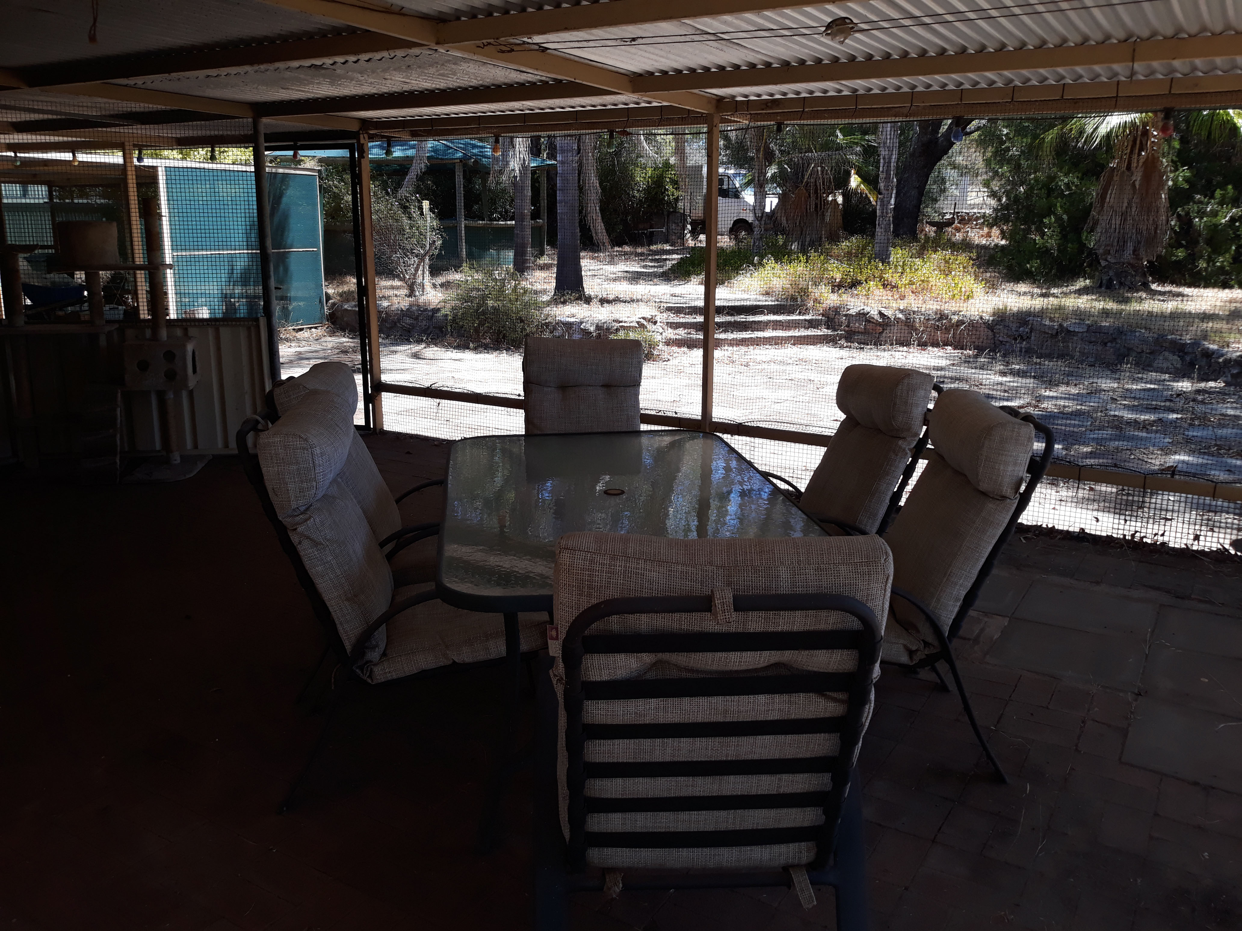 Porch, outdoor seating