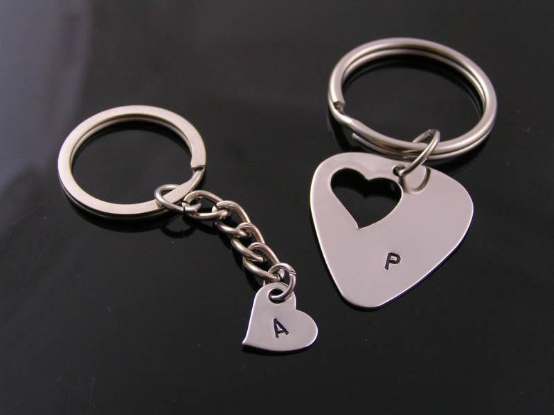 Matching Key Rings, personalised