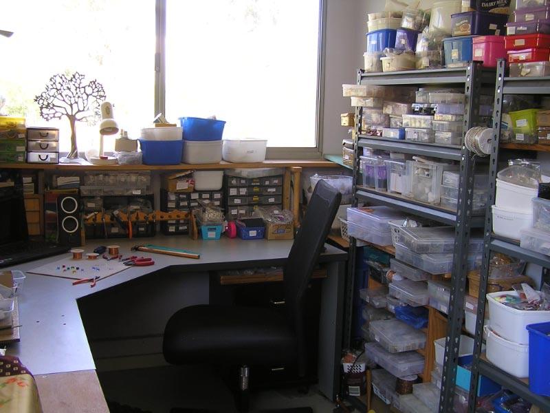 work room was used as artist's studio