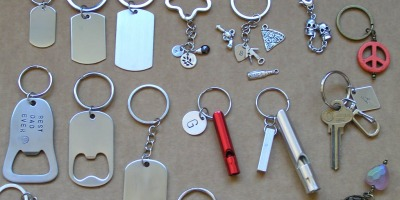 Personalized Key Rings or Key Chains