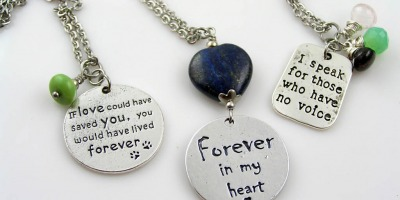 Mourning Jewellery for Pet Owners