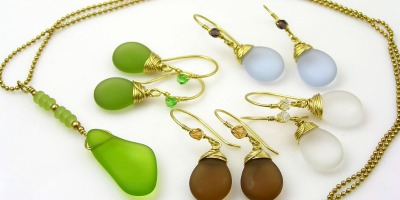 Sea Glass Jewellery