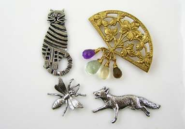 Handmade Brooches