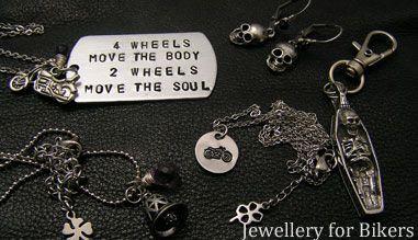 Jewellery for Bikers